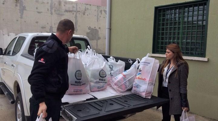 Mor Yaşam ile 1065 adet hijyen paketi dağıtıldı