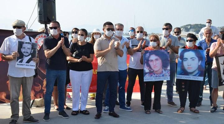 Sivas Katliamı'nda yaşamını yitirenler Kuşadası'nda anıldı