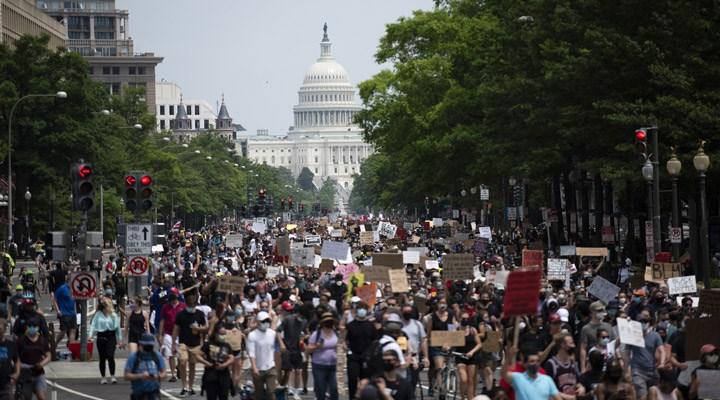 """""""ABD'deki George Floyd protestoları ülke tarihindeki en geniş katılımlı eylemler oldu"""""""