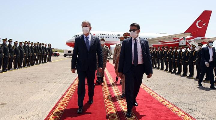 Savunma Bakanı Akar ve Orgeneral Güler Libya'da