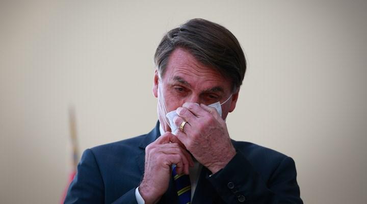 Bolsonaro, kapalı mekanlarda maske kullanılmasını onaylamadı