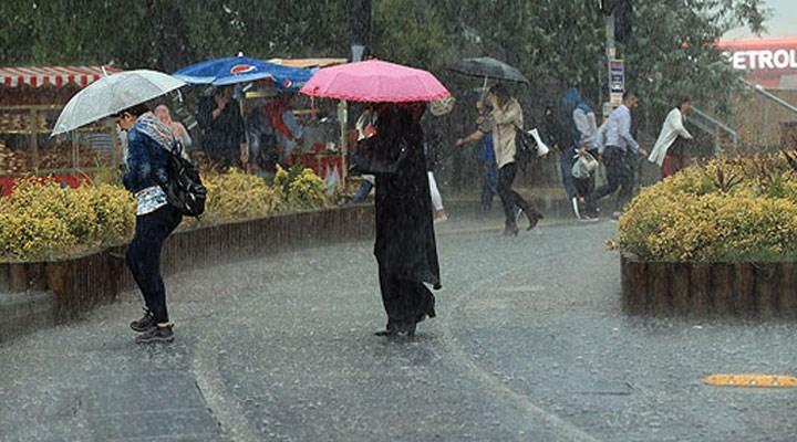 Meteoroloji 7 ilde sağanak yağış uyarısı yaptı