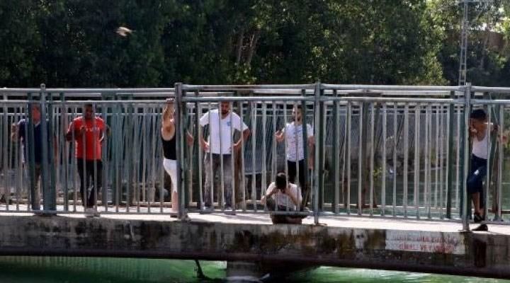 Adana'da sulama kanalına giren genç kayboldu