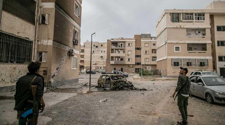 Libya'daki saldırıyla ilgili Savunma Bakanlığı'ndan açıklama