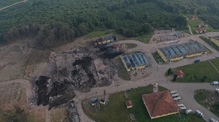 Sakarya'daki patlamada yaşamını yitiren işçi sayısı 6'ya yükseldi: 1 kayıp işçi aranıyor