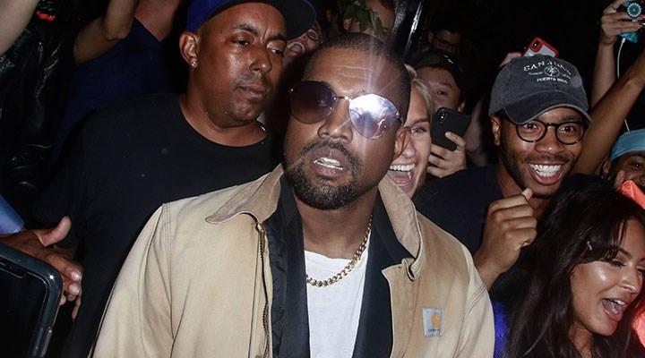 Ünlü şarkıcı Kanye West ABD Başkanlığı'na aday oldu