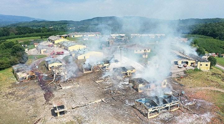 Sakarya'da havai fişek fabrikasındaki patlamaya ilişkin 4 kişi tutuklandı