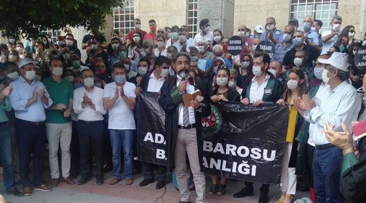 Adana'da 'paralel baro' protestosu