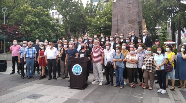 Trabzon Barosu çoklu baro sistemine karşı eylem yaptı