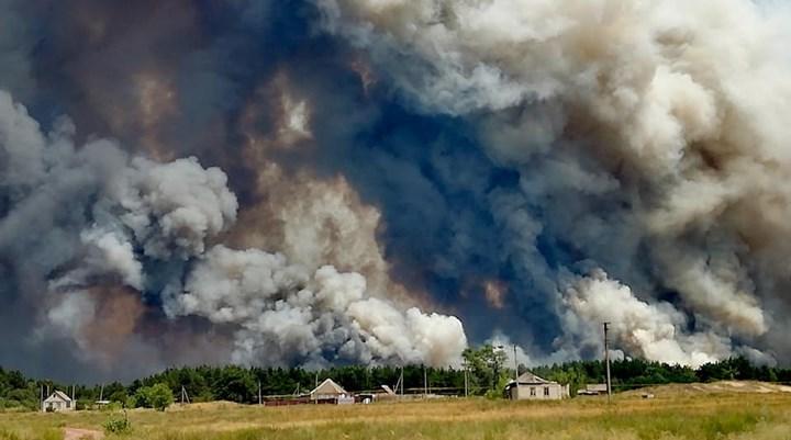 Ukrayna'da orman yangını: Hayatını kaybedenlerin sayısı 6'ya yükseldi