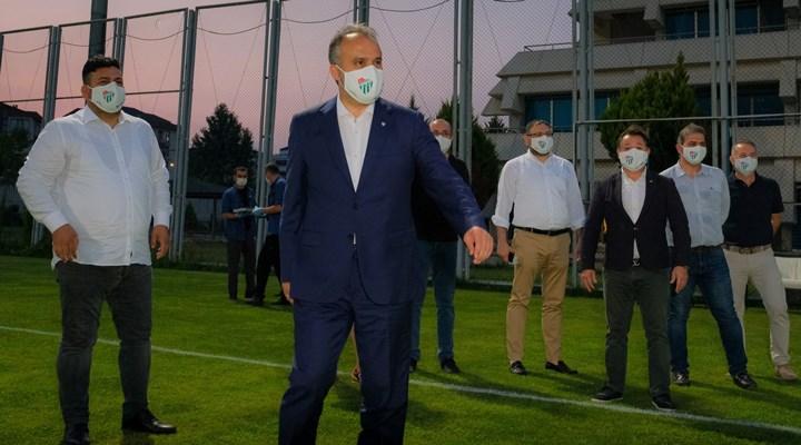AKP'li belediye, Bursaspor'a şampiyon olması halinde 2 milyon lira prim verecek!