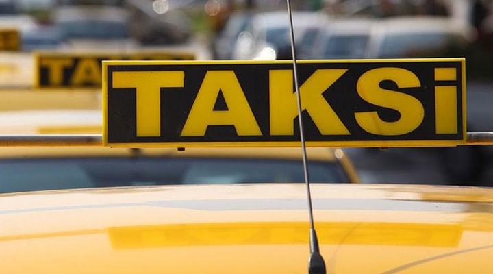 Bebek taksiye kustu diye 400 lira isteyen şoförün işine son verildi
