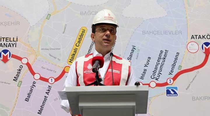 İmamoğlu: Kanal projesi, İstanbul'un en büyük felaketi olacak