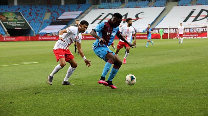 Trabzon'a çift penaltı yetmedi