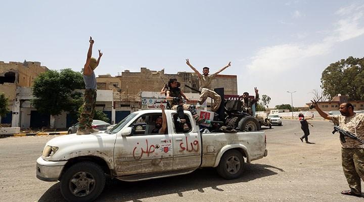 Libya'da 'paralı asker' krizi
