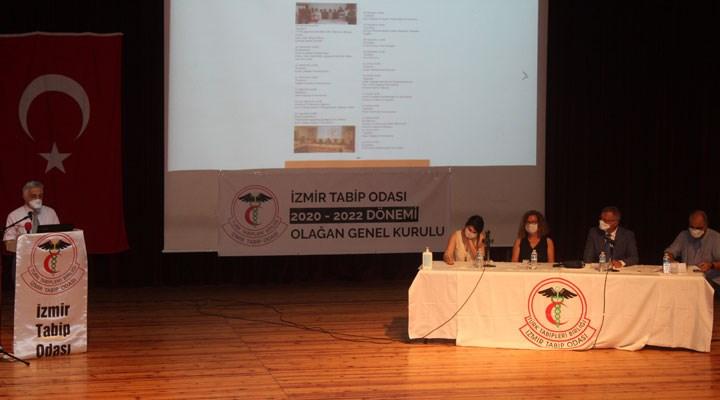 İzmir Tabip Odası'nın genel kurulu başladı