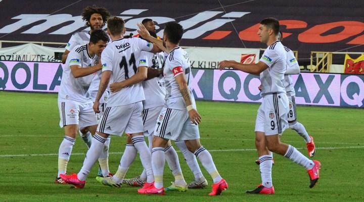 Beşiktaş Malatya'da tek golle kazandı