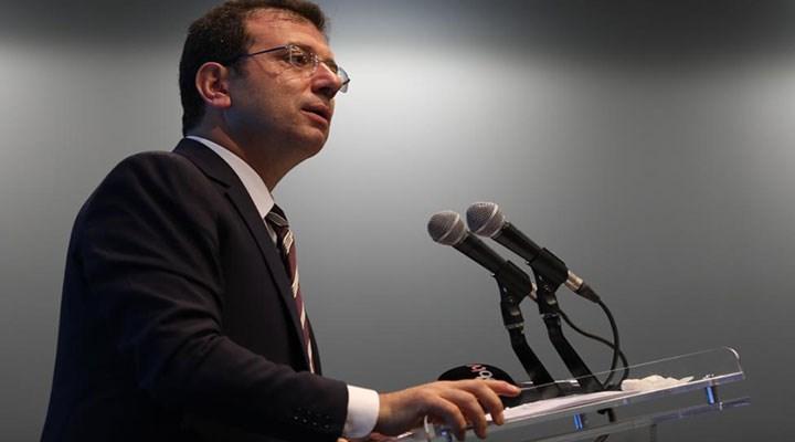 İmamoğlu: Bir avuç insan için hazırlanan yatırım İstanbul'un katli anlamına gelir