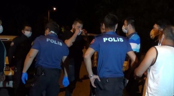 Sokak düğününe uyarıya giden polislere saldırı