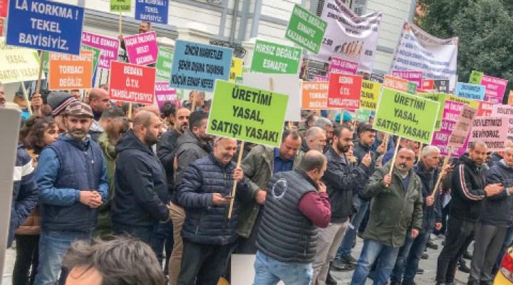 Tekel esnafı, İstanbul'dan Ankara'ya yürüyecek: Bu durum bizi bitirme noktasına getirdi