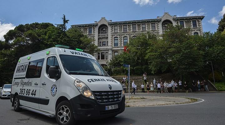 Adalet Ağaoğlu, Boğaziçi Üniversitesi'nden uğurlandı