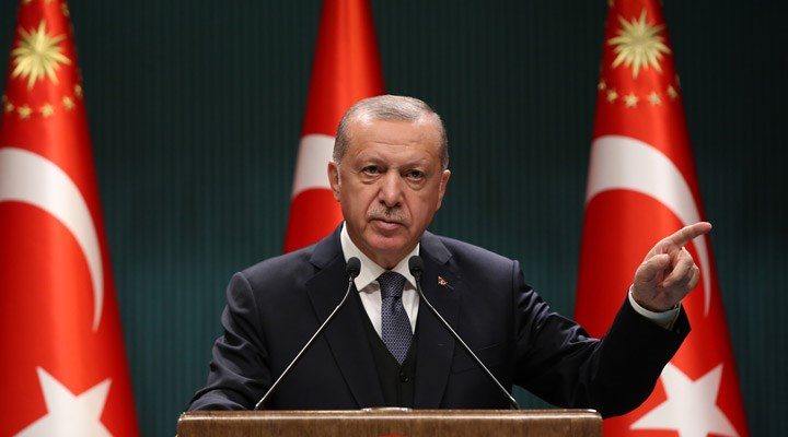 Erdoğan: Salgının zirvesini geride bıraktık