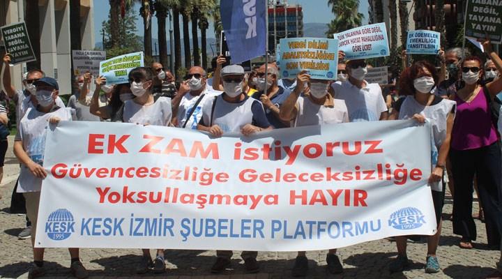 KESK İzmir: Ek bütçenin hayata geçirilmesini istiyoruz