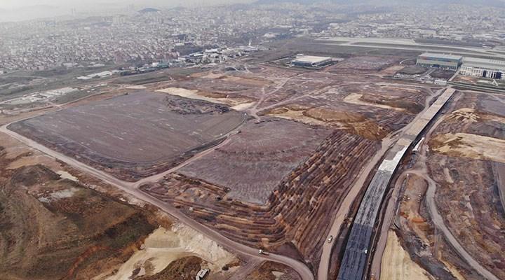 Sabiha Gökçen Havalimanı'nın 7 yıldır bitmeyen inşaatında ikinci çatlak