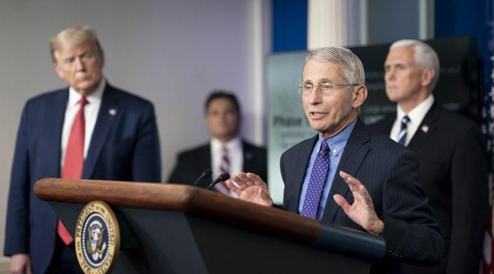 Washington Post: Beyaz Saray, Dr. Fauci'yi zayıflatmaya çalışıyor