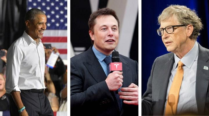 Elon Musk, Bill Gates ve Barack Obama'nın hesapları Bitcoin dolandırıcılığı için hacklendi