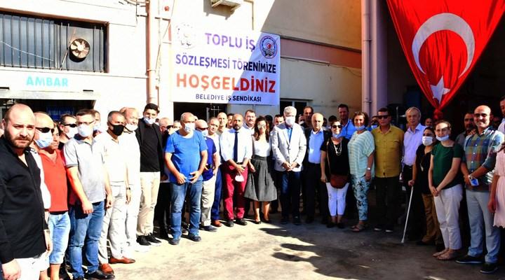 Narlıdere'de işçi maaşlarına yüzde 15 zam
