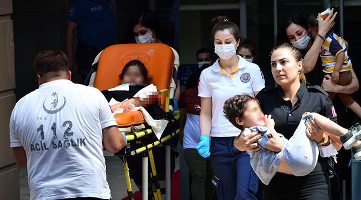 Adana Adliyesi'nde silahlı kavga: 3'ü çocuk, 6 yaralı