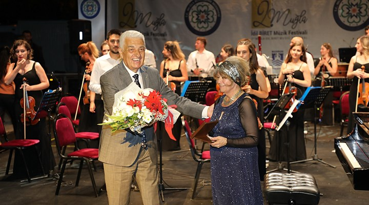 Bodrum'da İdil Biret konseri büyüledi