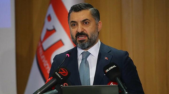 RTÜK Başkanı Şahin'in aylık geliri dudak uçuklatıyor!