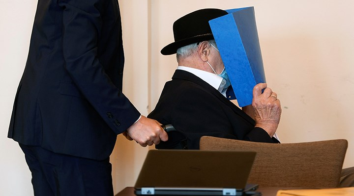 93 yaşındaki eski Nazi gardiyanına 2 yıl tecilli hapis cezası