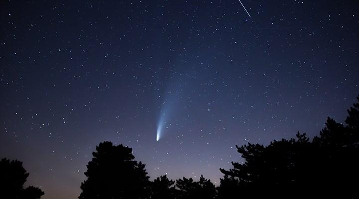 Neowise kuyruklu yıldızı çıplak gözle görülebilecek