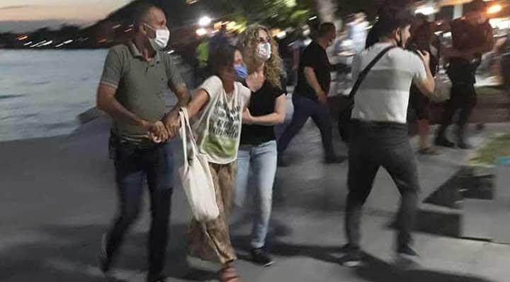 Kazdağları için Çanakkale'ye giden yurttaşlar gözaltına alındı