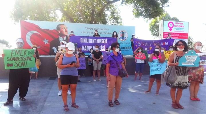Dikili Kent Konseyi Kadın Meclisi: İstanbul Sözleşmesi yaşatır
