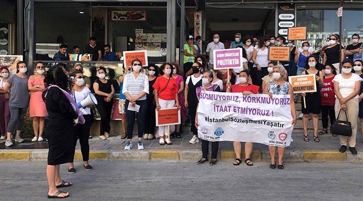 İstanbul Sözleşmesi için kadınlar ayakta!