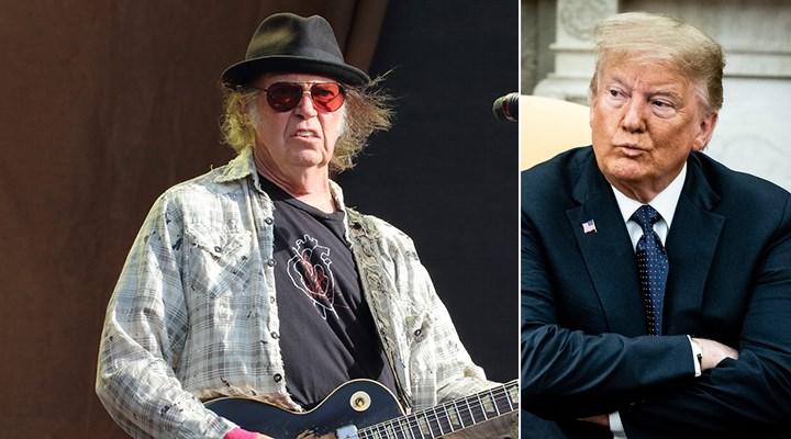 Neil Young'dan Trump'a mektup: Şarkılarımı kullanma