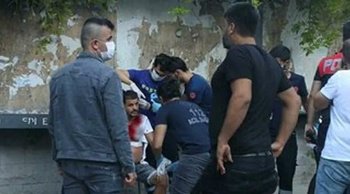 Taksim'de değnekçi, tartıştığı kişiyi bıçakladı