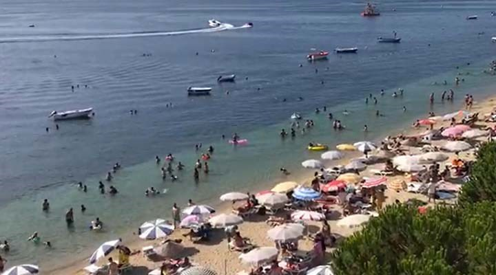 Adalara tatilci akını: Nüfus 10 kat arttı