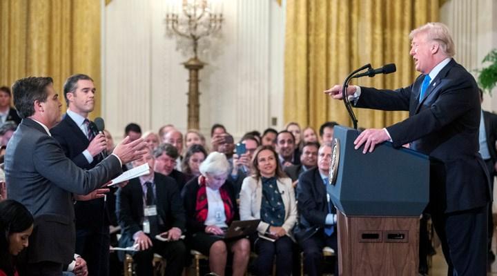 ABD Başkanı Trump ile CNN arasında 'sahte kaynak' tartışması