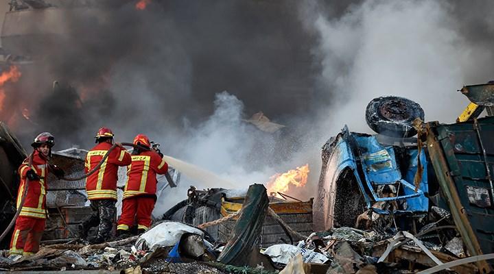 Beyrut'taki patlamada bilanço ağırlaşıyor: Yaklaşık 5 bin yaralı, 100'ün üzerinde ölü