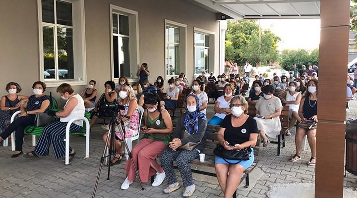 İzmir'de kadınlar bir araya geldi: İstanbul Sözleşmesi yaşatır