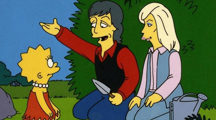 Lisa Simpson'ın vejetaryan olmasının arkasındaki isim Paul McCartney çıktı