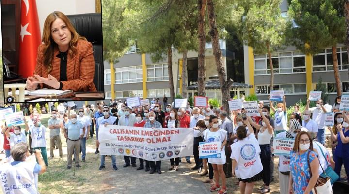 Balçova Belediye Başkanı Fatma Çalkaya'ya çifte standartlı 'sosyal mesafe' cezası