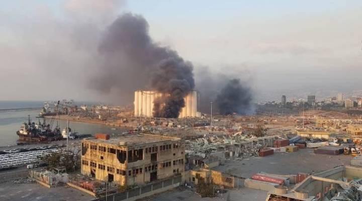 Beyrut'taki patlamayla ilgili Beyrut Limanı Müdürü ve Lübnan Gümrükler Müdürü gözaltına alındı