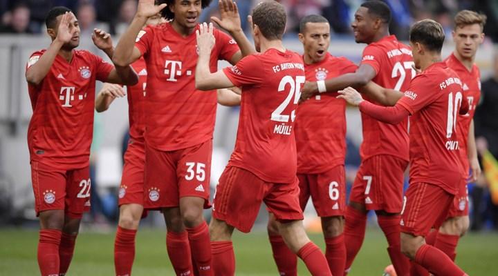 Bayern Münih Şampiyonlar Ligi çeyrek finalinde