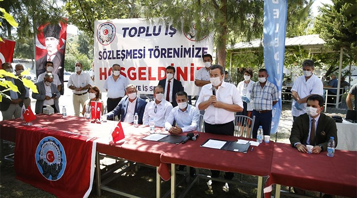 Konak'ta toplu iş sözleşmesi imzalandı